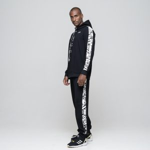 TROUSERS  - WHAM-BAM BAMBOO BLACK TRACKSUIT