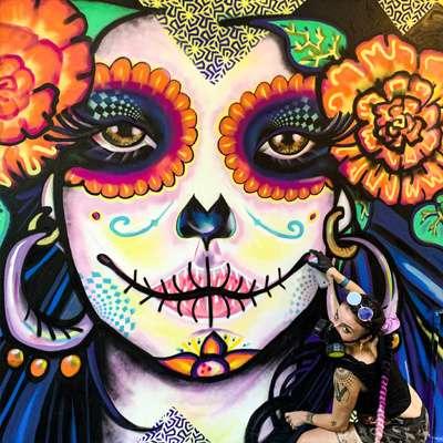 Sugar Skull Mural