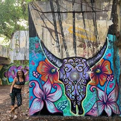 Embullished Mural