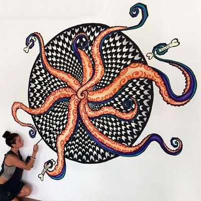 Pulpo Mural