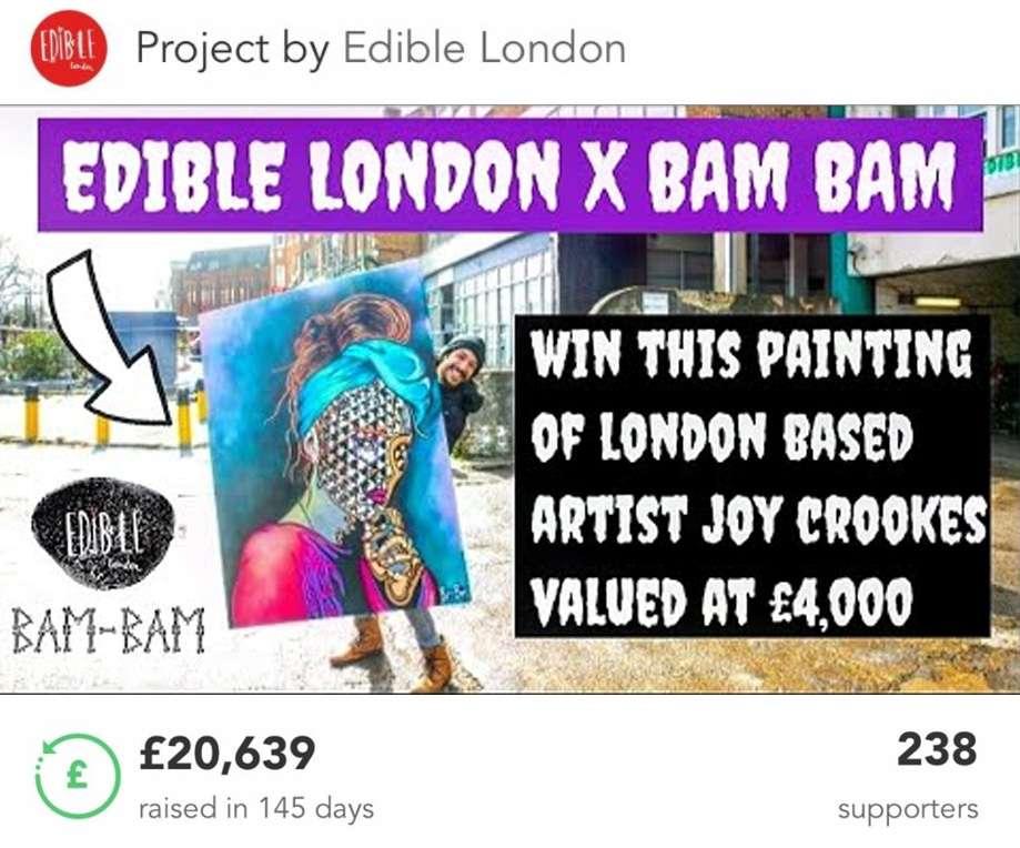 Edible Londo Crowdfunder
